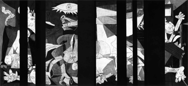 , 'Guernica Redacted (After Picasso's Guernica, 1937),' 2016, Cahiers d'Art