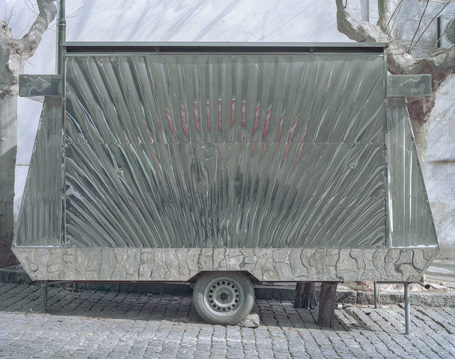 , 'Rear of Closed Carrito, Colonia del Sacramento, Department of Colonia, Uruguay,' 2010, Robert Klein Gallery