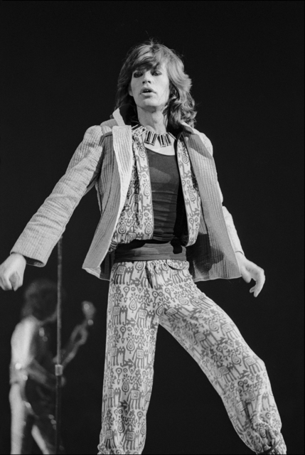 , 'Mick Jagger Performs,' 1975, Madelyn Jordon Fine Art
