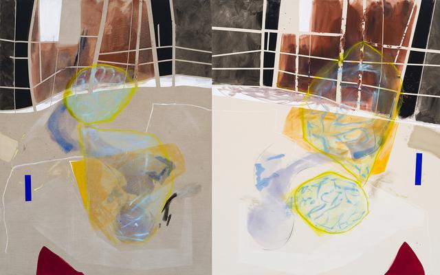 Trevor Kiernander, 'Glitch In The Matrix', 2019, Painting, Oil, acrylic, oil pastel on linen, Art Mûr