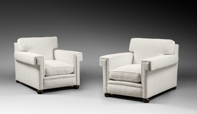 , 'Pair of armchairs,' ca. 1932, Galerie Chastel-Maréchal