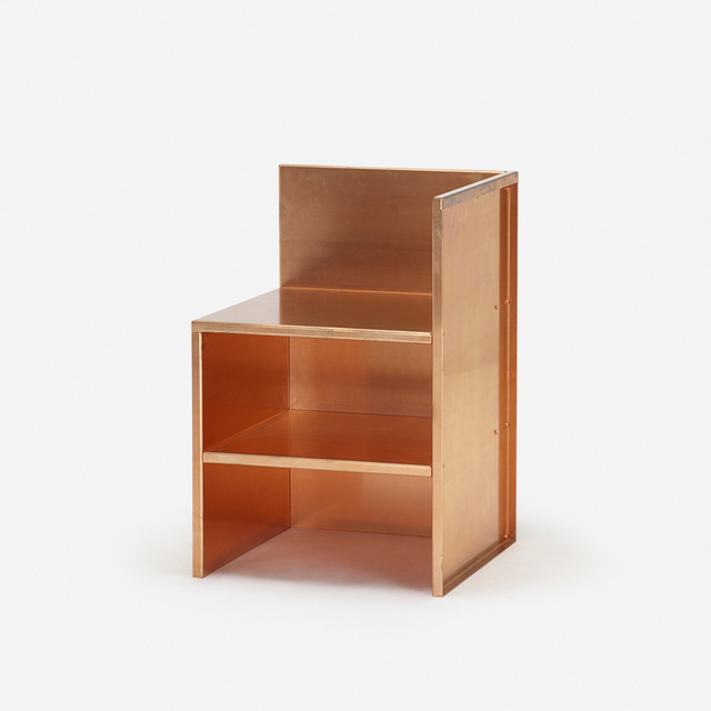Donald Judd, 'No 15 chair', 1984, Wright