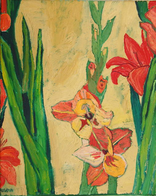 , 'Gladioli,' ca. 1980, Robert Eagle Fine Art