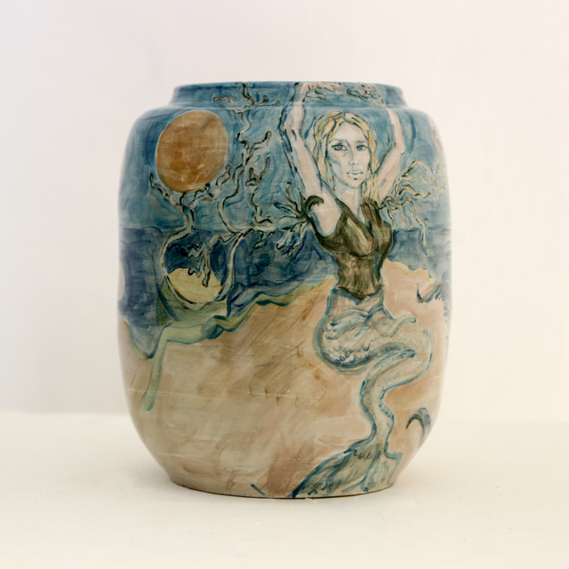 , 'Devour the sun and moon,' 2018, LAMB Arts