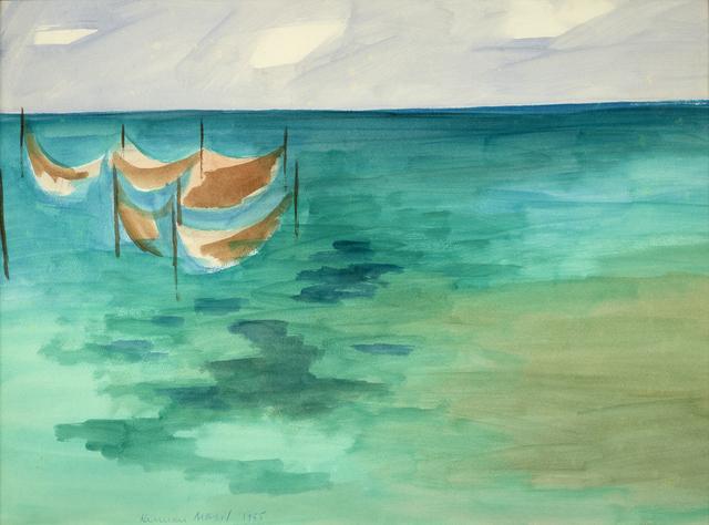 , 'The Weirs,' 1955, Debra Force Fine Art