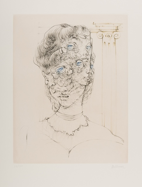 Hans Bellmer, 'Untitled', Print, Etching printed in colours, Forum Auctions