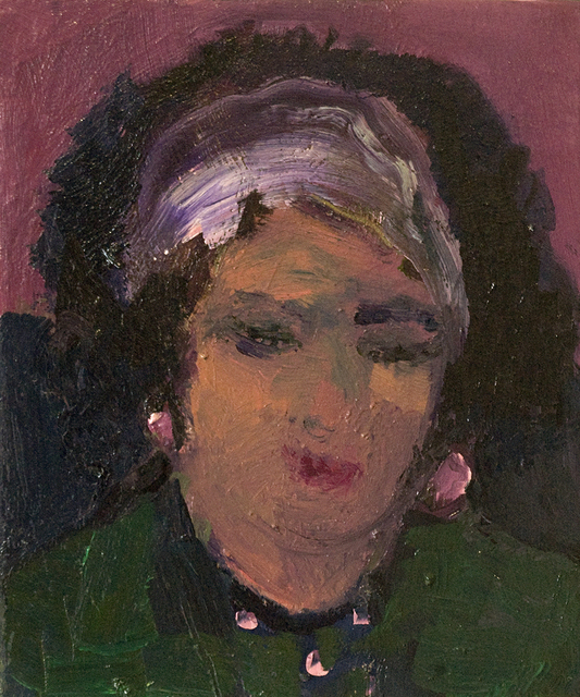 Jennifer Hornyak, 'Head of Woman with Red Lipstick', 2017, Wallace Galleries