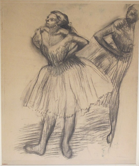 , 'Deux danseuses debout,' ca. 1893-98, Browse & Darby