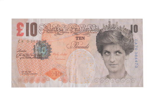 After Banksy, 'Di-Faced Tenner', 2004, Chiswick Auctions
