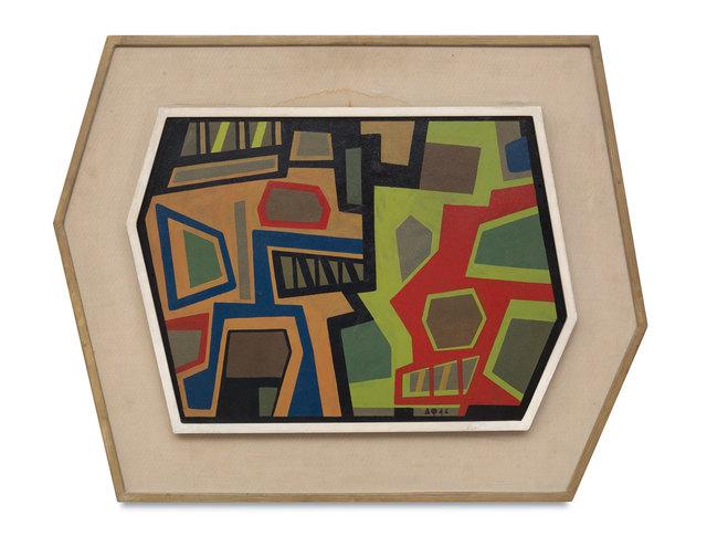 , 'Cosmopolis II,' 1946, Simões de Assis Galeria de Arte