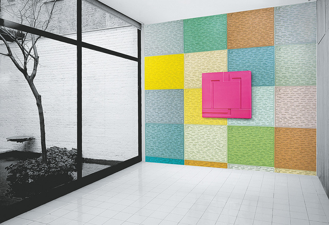 Peter Halley, 'Static Wallpaper, from Wall Works', 1998, Phillips
