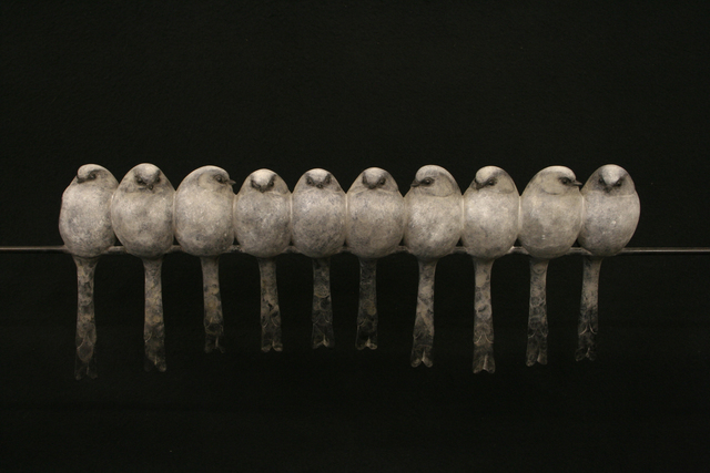 , 'Ten Long Tailed Tits,' , Gallery Different