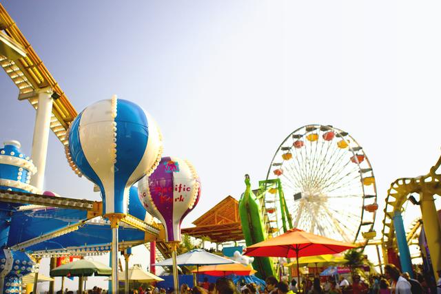 , 'Amusement Park III,' 2015, Florida Fine Art