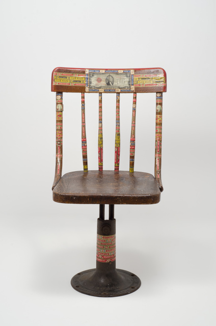 , 'Swivel Chair,' 1920-1960, Fleisher/Ollman