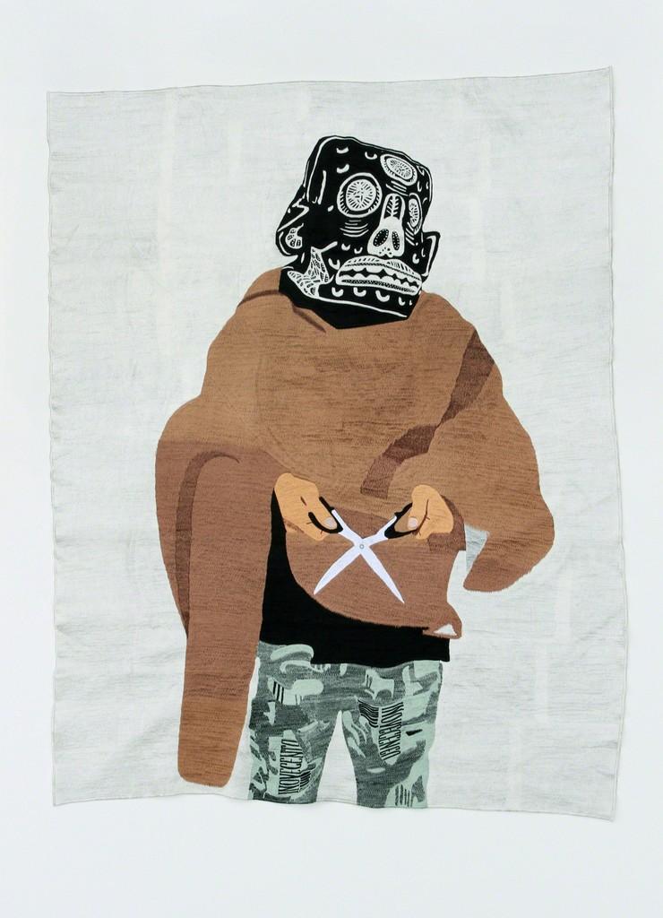 Eko Nugroho, 'Just Pretending to Understand Politics 7,' 2012, Jane Lombard Gallery