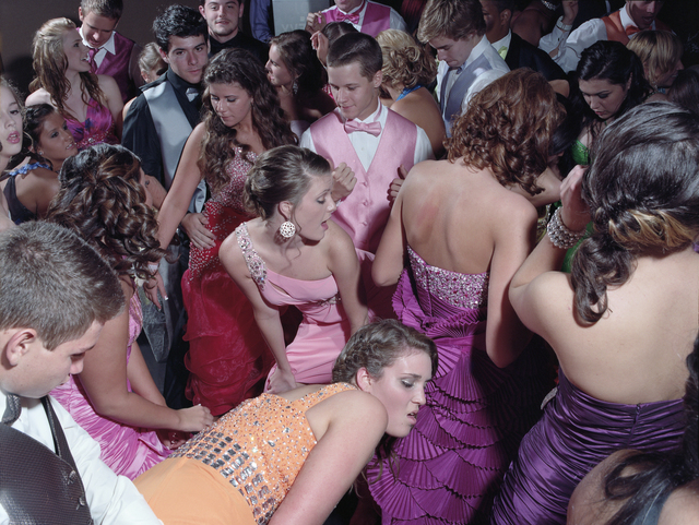 , 'Woodland Hill High School Prom no. 1,' 2012, Alan Cristea Gallery