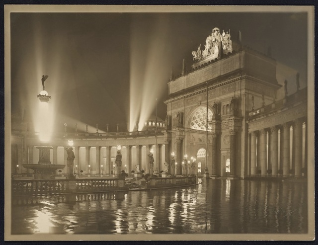 , 'The Arch of the Rising Sun at Night,' 1915, de Young Museum