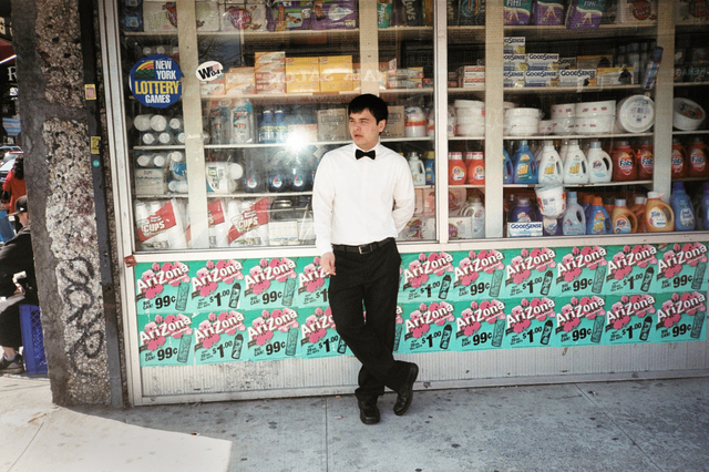 , 'Waiter smoke break, Avenue U,' 2011, Court Tree Gallery