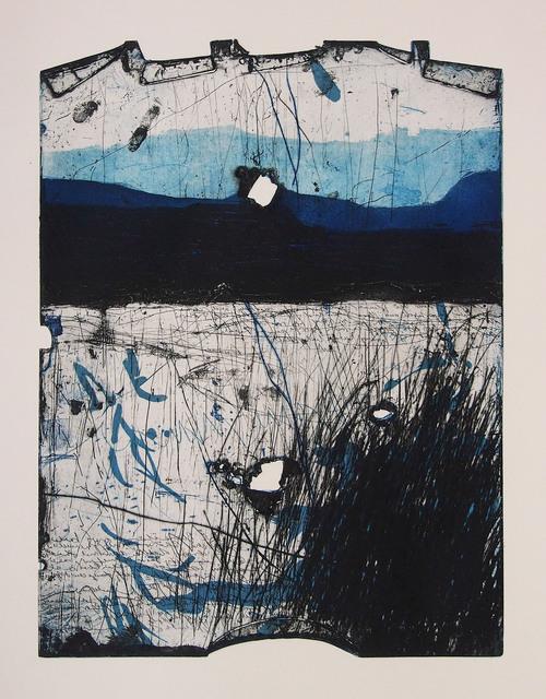 Helmut Anton Zirkelbach, 'Blaue Mauer', 2019, Galerie Reinhold Maas