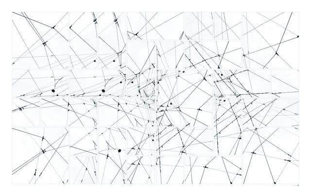 , 'Lines 01-3,' 2013, XS