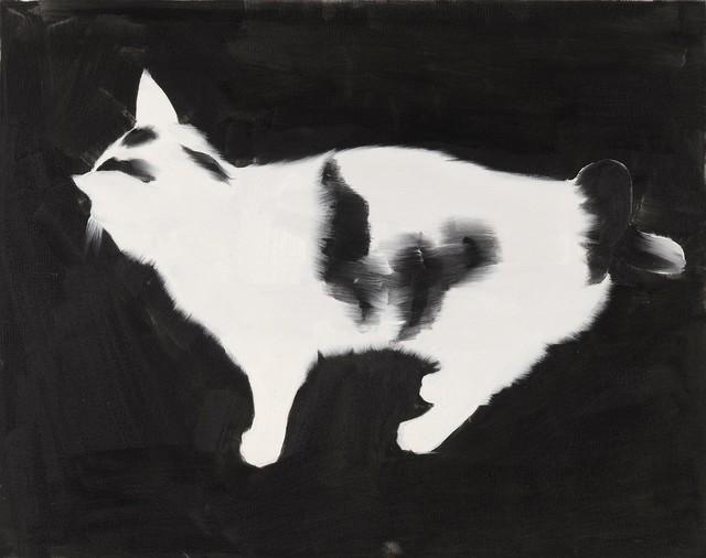, 'Cat 1,' 2004, Raster