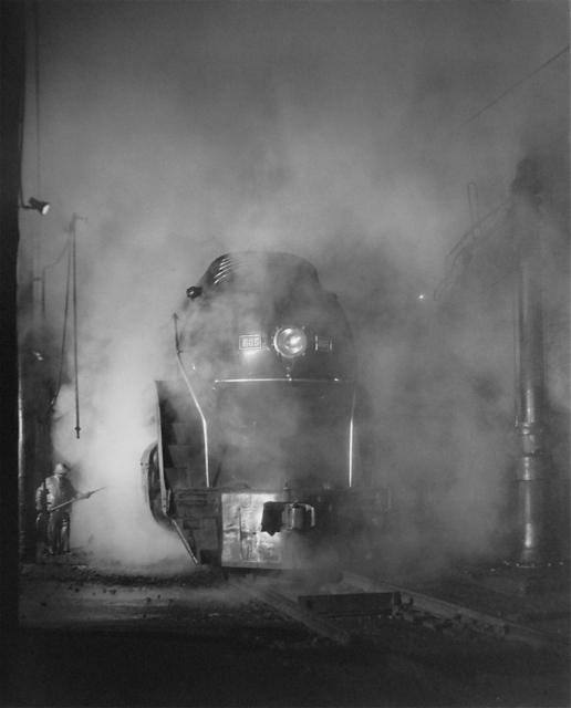 , 'Washing the J Class. ShaffersCrossing Yards, Roanoke, VA,' 1955, Danziger Gallery