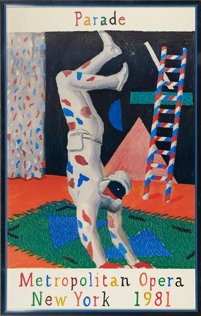 David Hockney, 'Parade for Metropolitan Opera', 1981, Rago/Wright