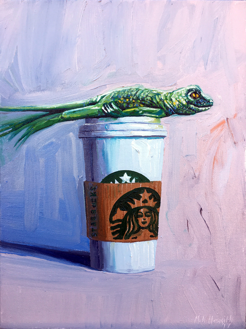 , 'Venti Plank with Lizard,' 2017, Dab Art