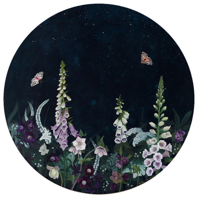 , 'Foxgloves & Tiger Moths,' 2017, Strange Tracey