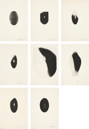 Arnulf Rainer, 'Acht Masken (Eight Masks),' 1971, Phillips: Evening and Day Editions