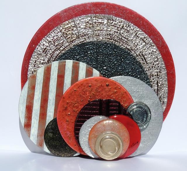 , 'Textured Circles,' 2013, ACCS Visual Arts