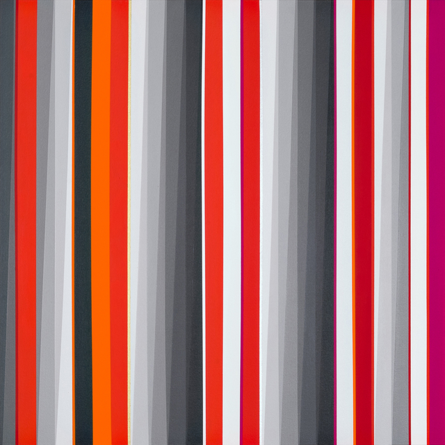 Gabriele Evertz, '(A-) Chromatic + RO', 2015, Painting, Acrylic on canvas over panel, Minus Space
