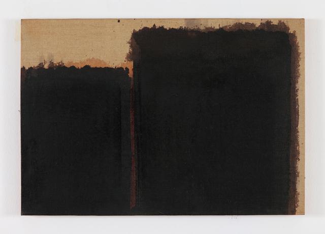 , 'Burnt Umber & Ultramarine Blue,' 1990, Simon Lee Gallery