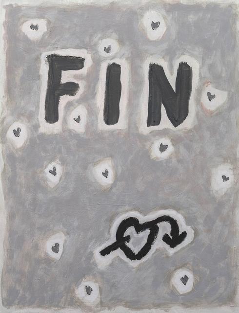 , 'o.T. (Fin),' 1985, Ruttkowski;68