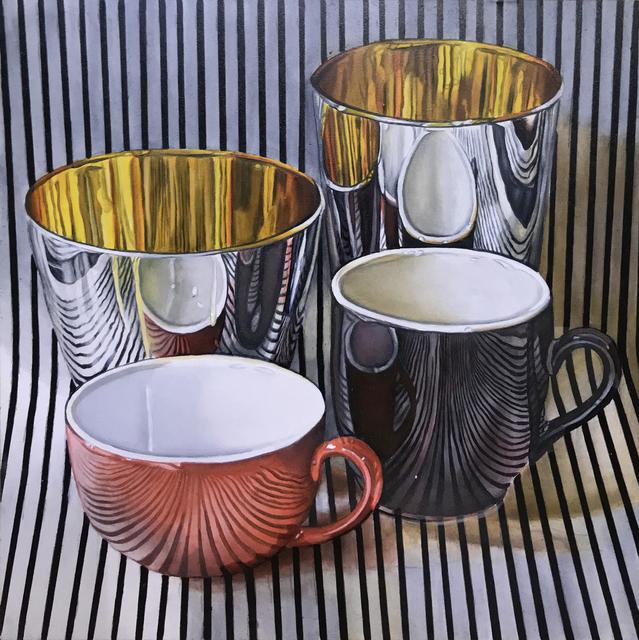 , 'Cups,' 2019, M.A. Doran Gallery
