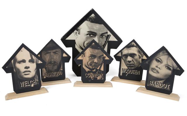 Tavar Zawacki aka ABOVE, '1960'S Hollywood Box Set (Connery)', 2016, Julien's Auctions
