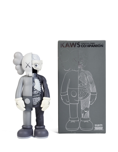 KAWS, 'Five Years Later Dissected Companion (Gris)', 2006, Sculpture, Painted cast vinyl, DIGARD AUCTION