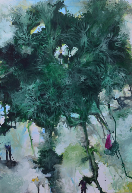 , 'Urban canopy V,' 2015, Ed Cross Fine Art