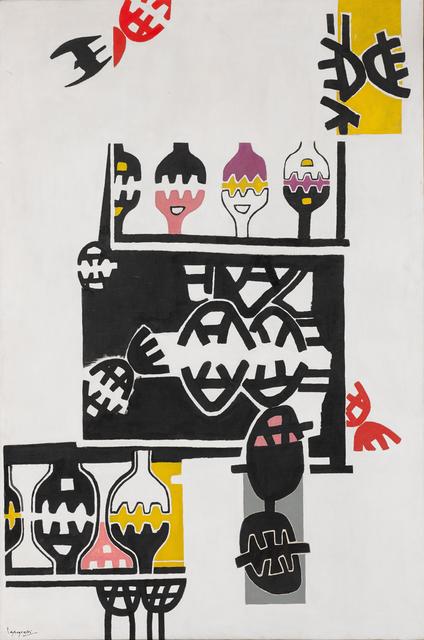 , 'Superficie 105,' 1954, Galleria Tega