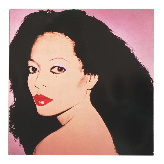 "Andy Warhol, 'Diana Ross / ""Silk Electric""', 1982, Print, Vinyl, LP, Album, Gatefold, NextStreet Gallery"