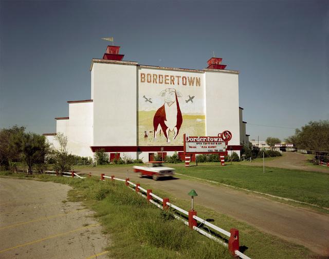 , 'Bordertown Drive-In, Laredo Texas November 3, 1985,' 1985, Kopeikin Gallery