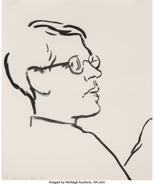 David Hockney, 'James', 1980, Heritage Auctions