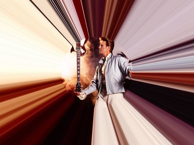 , 'David Bowie In His Time Tunnel,' 1989, Imitate Modern