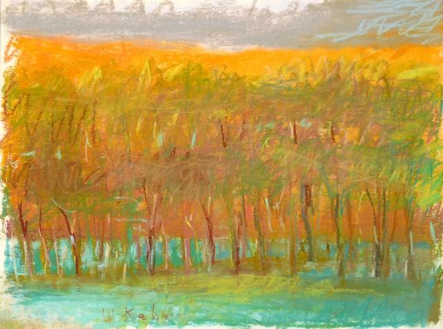 , 'Evening Tree Row,' 1993, Walter Wickiser Gallery