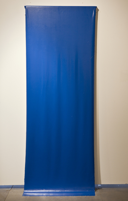 Martin Cordiano, 'Blue on White', 2012, Installation, Household Paint, Knoerle & Baettig Contemporary