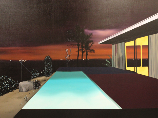 , 'Infinity Pool (Night Scene 2),' 2018, Rebecca Hossack Art Gallery