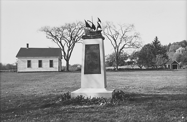 Lee Friedlander, 'The American Monument: To the Men and Women Who Settled in Newbury, Massachusetts', 1976, Rago