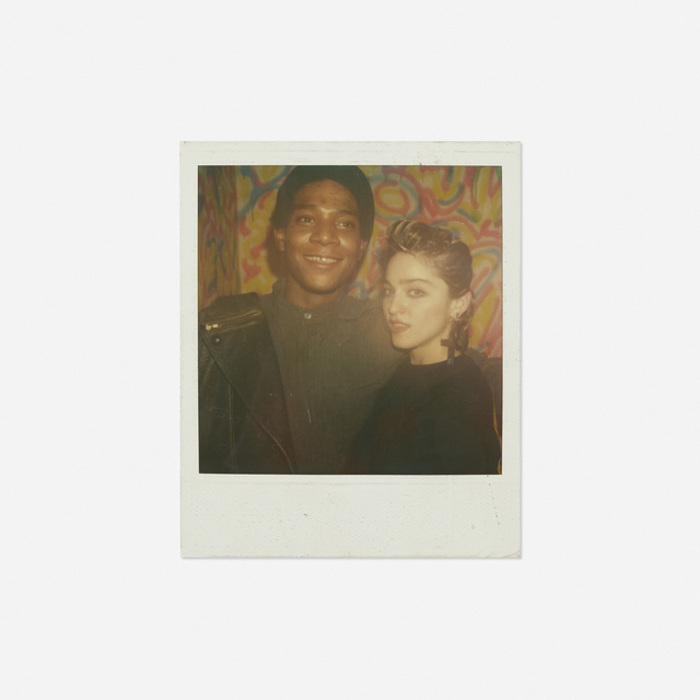 Maripol, 'Portrait of Jean-Michel Basquiat and Madonna', 1982, Photography, Polaroid, Rago/Wright