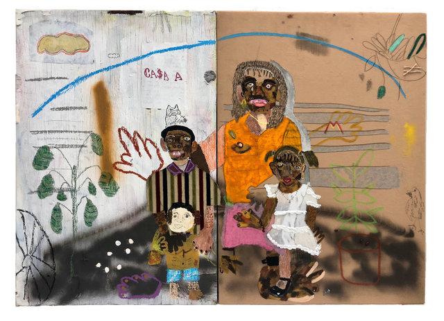 John Rivas, 'Llegando a la frontera', 2019, LatchKey Gallery