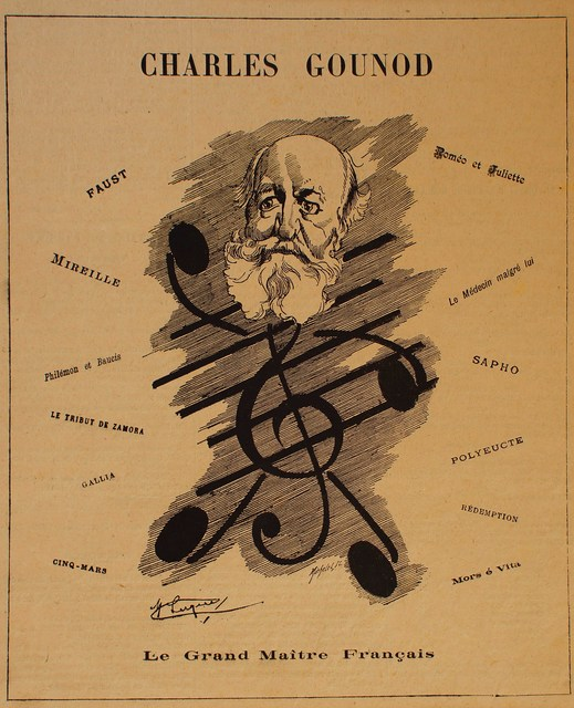 Manuel Luque, 'Portrait of Composer Charles Gounod', 1886, Wallector